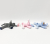 Infant Stuffed Animal Elephant Dog Rabbit Pacifier Holder Soft Toys