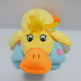 Stuffed Soft Plush Yellow Duck Toy Baby Blanket