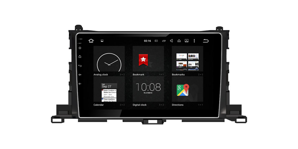 2015-2017 Toyota Highlander Android 9.0 Car DVD Player Stereo Head Units TV (Fits: Highlander)