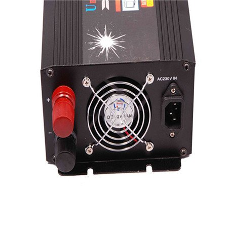 12/24Vdc and 220Vac to 220Vac dual input 1000Watt modified sine wave inverter moveable UPS solar power with Battery charger