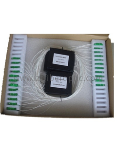 ABS Box type SC/APC 1: 4 Fiber Optic Splitter