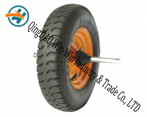 "16""X4.00-8 Pneumatic Rubber Wheel for Hand Track"