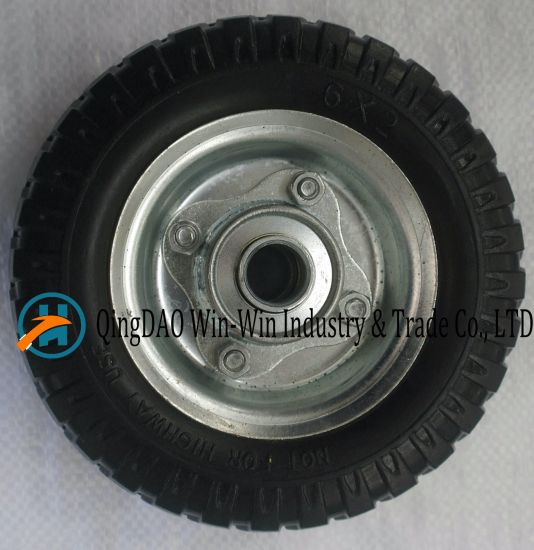 6*2 Inch PU Foam Wheel for Casters Wheel