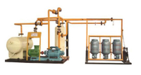 LPG Cylinder Residual Liquid Removal Machine