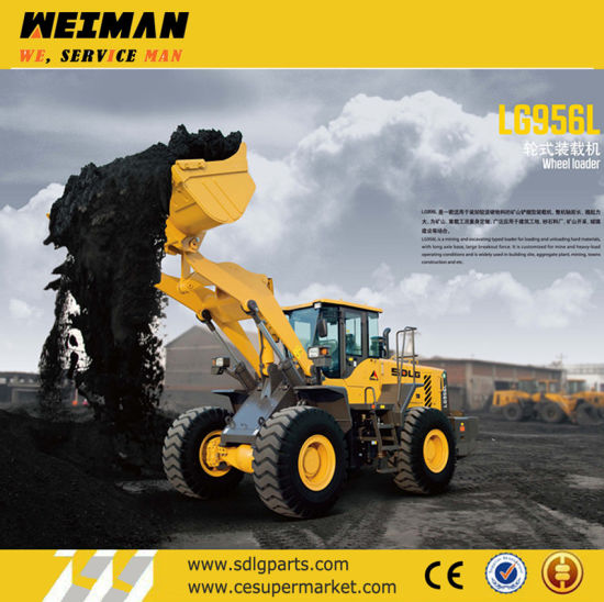 5t Wheel Loader Sdlg LG956L L956f for Sale