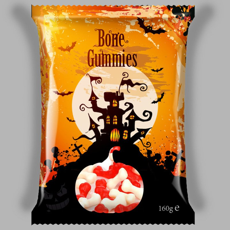 Halloween Bone Gummy Candy