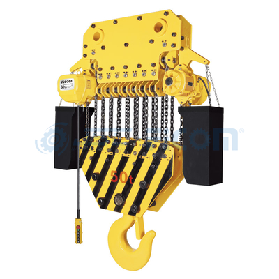 Electric Chain Hoist Model: STD (Large Capacity: 30 to 50 Ton)