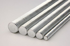 Threaded Rod Threaded Bolt Carbon Steel Zinc Plated