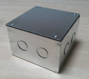 Junction Box Eltra Box Electra-Galvanized Box