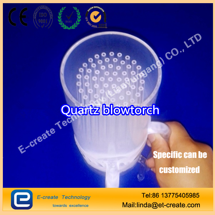 High efficiency quartz fire head