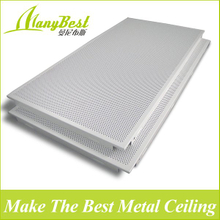 300*600 Foshan cost price decoration aluminum false ceiling Plate