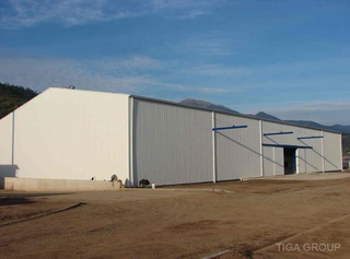 Pre Engineered Warehouse/Factory Steel Frame Structure Shed