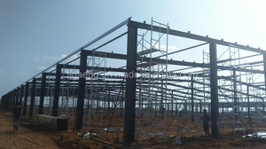 Good Quality Heavy-Duty Workshop/Steel Structure Project for Ghana
