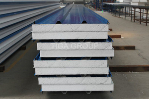 EPS Sandwich Board / PU Sandwich Panel / Rock Wool Roof Panel