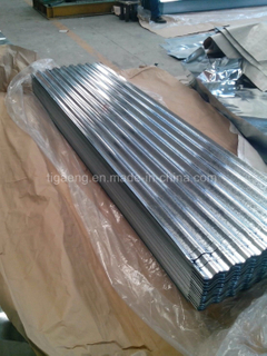 Top Level Corrugated/Trapezoidal Galvanized Steel Roofing Plate