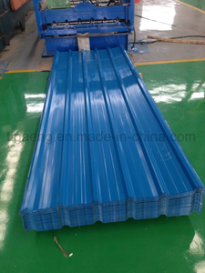 Factory Price Color Coated Trapezoidal Steel Tile/Plate/Sheet for Kenya