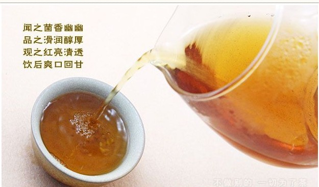 Hu Nan brick tea(Diet tea)
