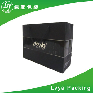 Promotional Webbing Rope Handle Good Quality Paper Bag