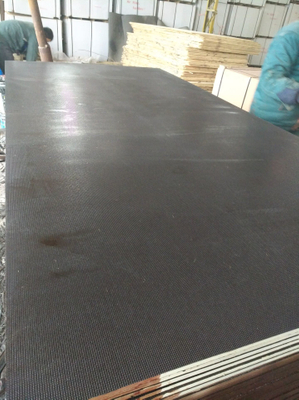 Black/Brown/Anti-Slip Film Faced Plywood /Marine Plywood for Construction (HB002)