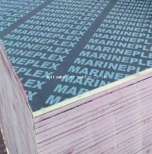 Linyi Film Faced Plywood Poplar Core WBP Glue Black Film First Grade