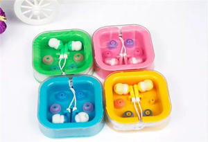 Gift Promotion 6 Colors Candy Fruit Earbuds in Ear Headphone Earphones