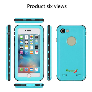 Amazon Hot Sales Waterproof Mobile/Cell Phone Case for iPhone 7