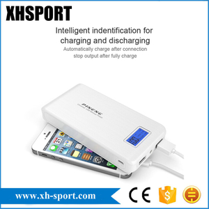 Pn-929 15000mAh Mobile Power Bank Dual USB LCD Phones Battery Charger for Phone