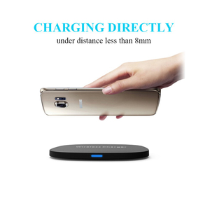 Qi Wireless Charging Pad Fast Wireless Charger for iPhone 8 Samsung S8