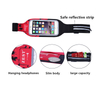 Cool Lycra Packets Travel Outdoor Waist Bag Cell Mobile Phone Pouch Bag Sport Slim Color Maxing Waist Belt Bag