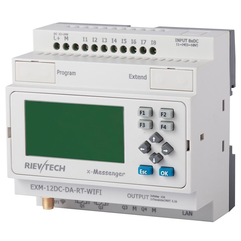 Exm 12dc da rt wifi buy wi fi plc remote control for Plc wifi precios