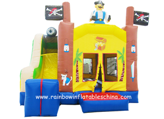 RB3020(4.5x4.5m) Inflatables Pirate Theme Bouncy Combo Jumping Bouncer Castle