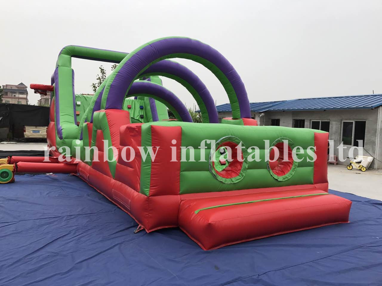 RB5048(12x4m) Inflatable High Quality And Cheap Price Obstacle Course Game