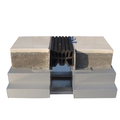 Flush Thinline Rubber Floor Expansion Joint Covers MSQTP-2