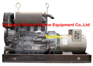 Deutz F4L912 28-30KW 50HZ Air cooled diesel genset generator set