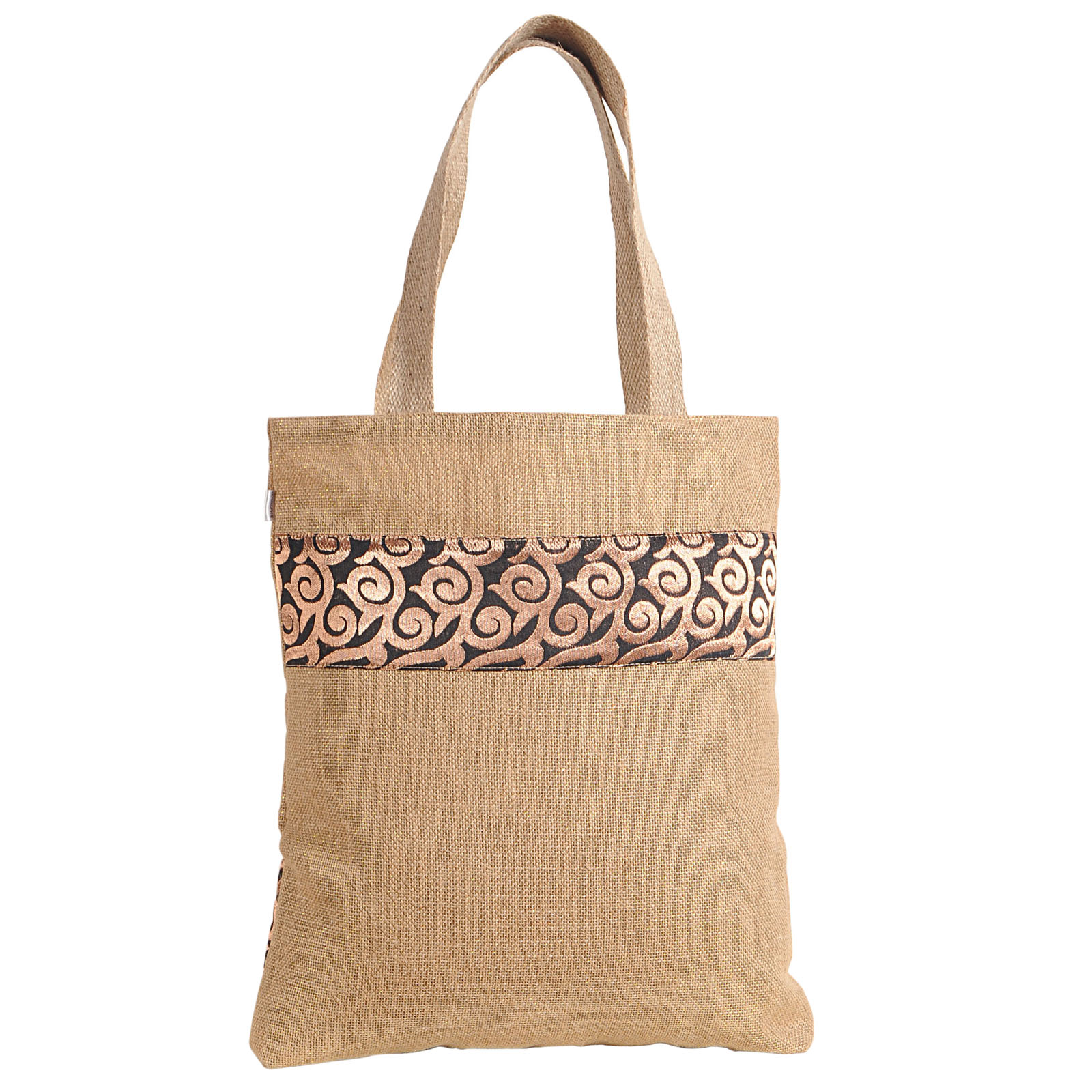 New Fashion Women Jute Shoulder Handbag Tote