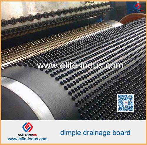 HDPE Composite Dimple Geomembrane Drainage Board