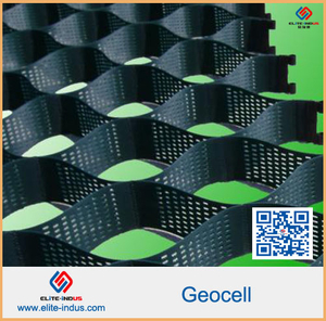 Plastique HDPE Geocell