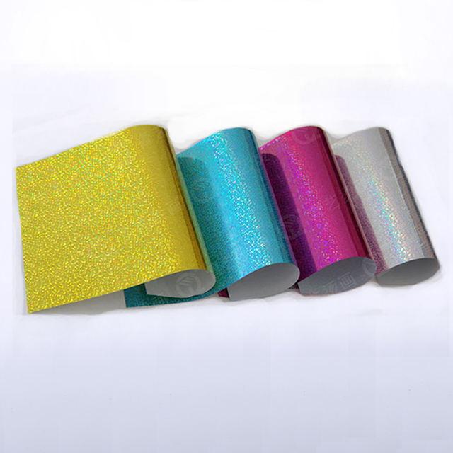 Glitter Heat Transfer Adhesive Vinyl Sheets Buy Glitter