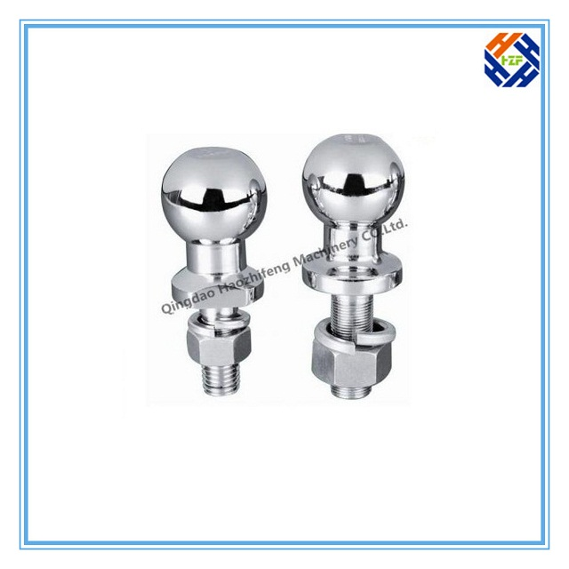 CNC Machining Part for Trailer Ball by Forging-2