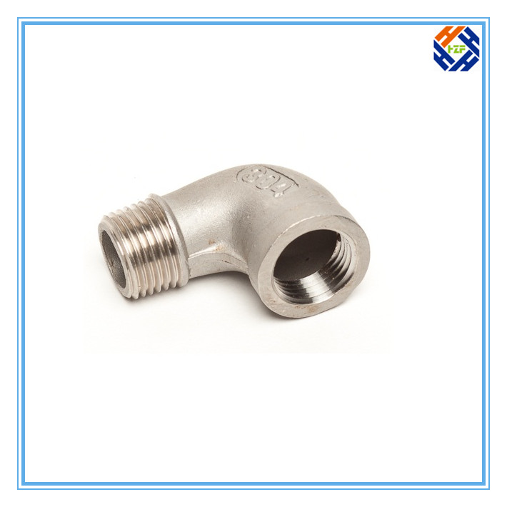 2 Ss304 Stainless Steel Elbow Pipe Fitting-4