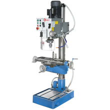 Stand Gear Head Spindle Manual Feed Drilling and Milling Machine (BF40)