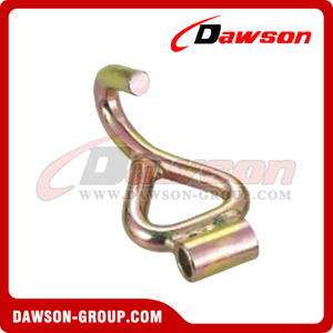 DSWH019B BS 3000KG / 6600LBS 50mm Single J Hooks with Tube