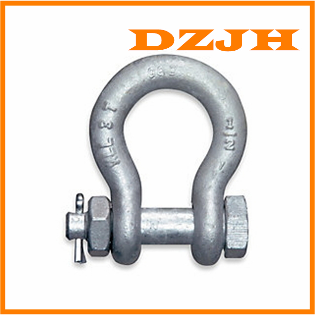 G-2140 / S-2140 Alloy Bolt Type Anchor Shackles