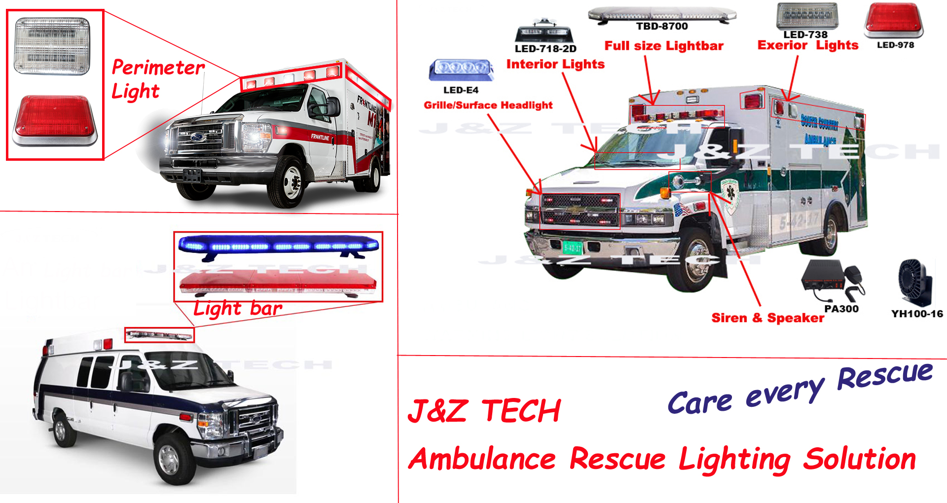How J Amp Z Ambulance Perimeter Light To Be No 1