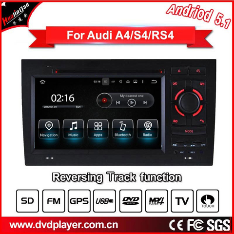 Android phone connections car dvd player for audi a4 s4 gps