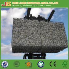 CE certificate 1x1x2m 240g/m2 heavy duty hot dipped galvanized Welded Gabion box ,Force protection woven gabion for barriers gabion