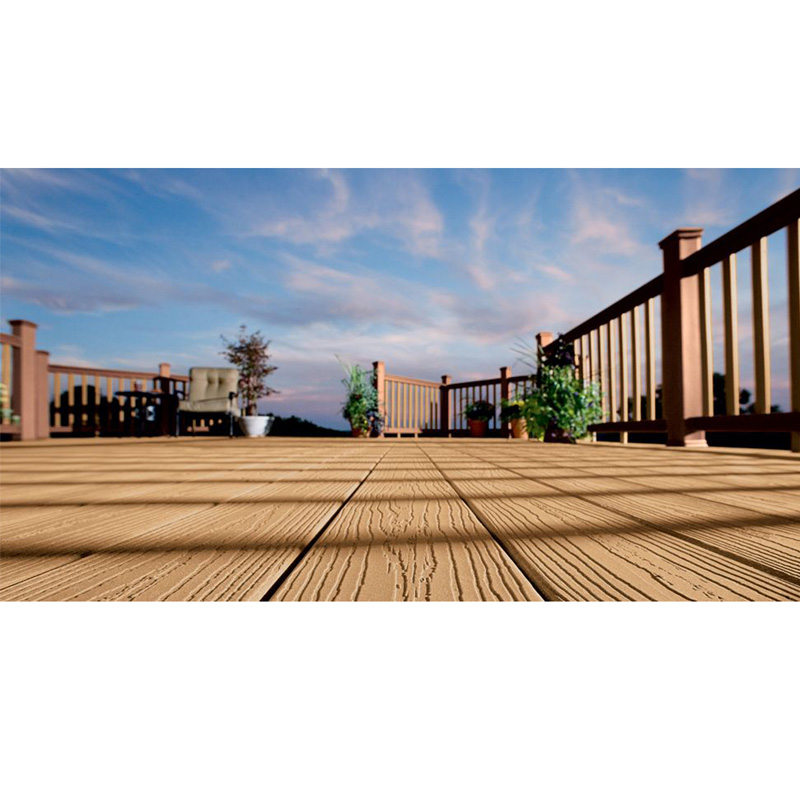 wood plastic composite extrusion line