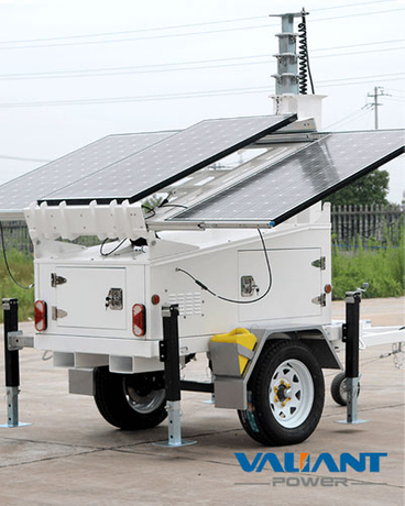 Mobile Solar Power Trailer VTS600A
