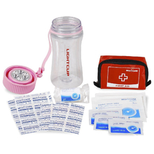 Light-cup first aid kit