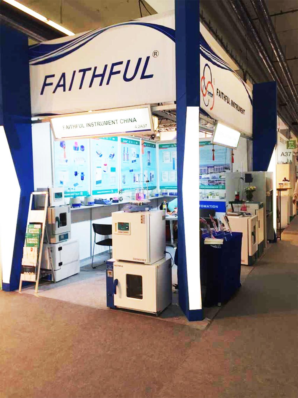 2015 ACHEMA FAITHFUL INSTRUMENT